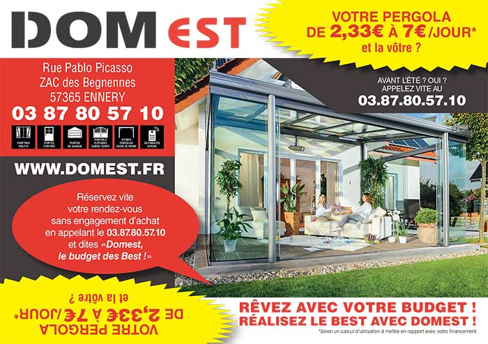 Domest lorraine moselle 57 ennery thionville metz